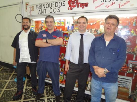 Mais fotos dos amigos Carlos Roberto, Edilson Cargon e Maurício