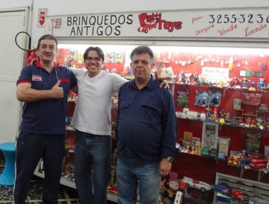 Com os amigos Edilson Cargon e Luis Grama