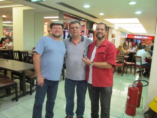 Marcelo Patti, Jorge Ventura e Carlos Roberto